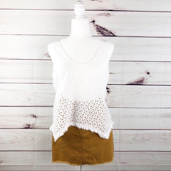 acb623561f Honey Belle Skirts   Sk12 Honey Bell Mustard Color Jean Skirt   Poshmark